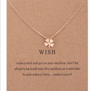 Wish chain necklace 🌬great gift idea!
